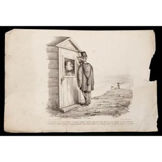 Сатирическая литография «Наполеон III»