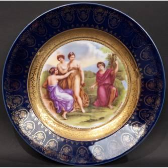 Тарелка декоративная «Суд Париса»