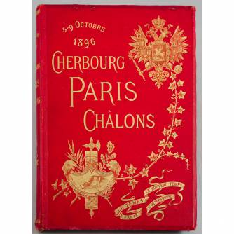 Книга «Cherbourg, Paris, Chalons 5-9 october 1896»