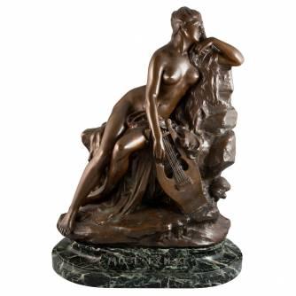 Champeil, Jean Baptiste Antoine (1866-1913) Скульптура «Муза»