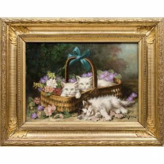 Leroy Jules (1833-1865) «Котята»