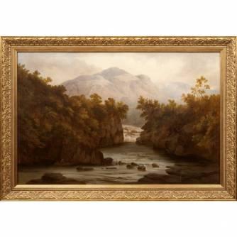 Картина «Долина Клайда. Шотландия»