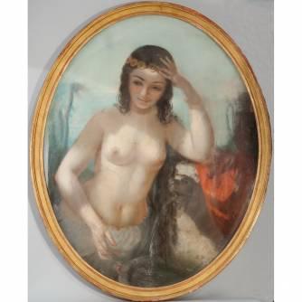 Картина «Одалиска у фонтана»