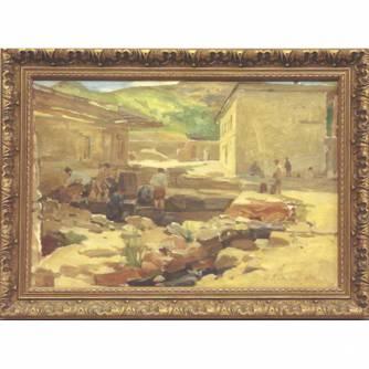 Дроздов Иван Георгиевич (1880-1939) «Двор»