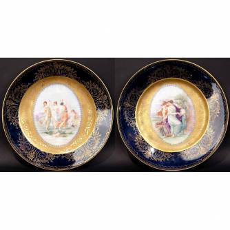 Парные тарелки «Мифологические сюжеты»
