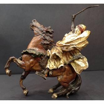 Венская бронза «Араб на коне»