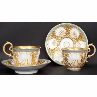 Две чайные пары «Камыши»