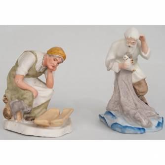 Парные фигуры «Старик» и «Старуха»