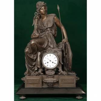Часы каминные «Афина Паллада»