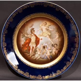 Тарелка декоративная «Венера и Эней»