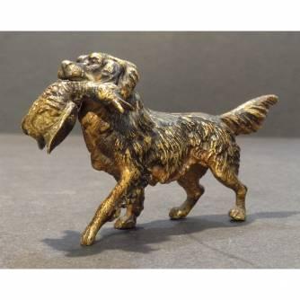 Венская бронза «Собака с уткой»