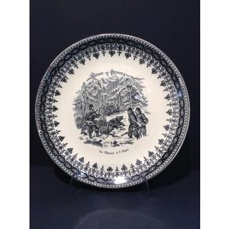 4 декоративные тарелки из серии «Путешествие по России»