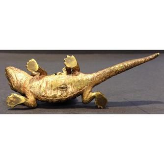 Венская бронза «Мальчик на крокодиле»