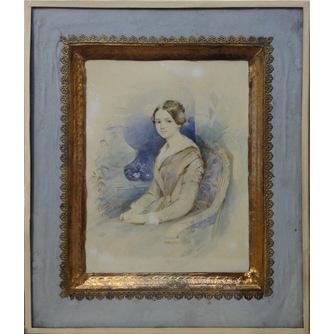 Витковский Алексей Васильевич (1813-?) «Женский портрет»