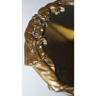 Зеркало с фигурами Арлекинов и месяцем