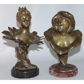 "Henri Godet (1863-1937) ""Девушки-цветки"""