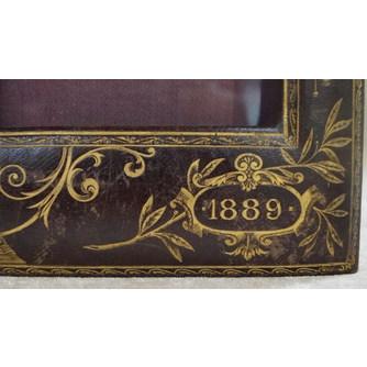 """Рамка настольная """"Всемирная выставка 1889"""""""