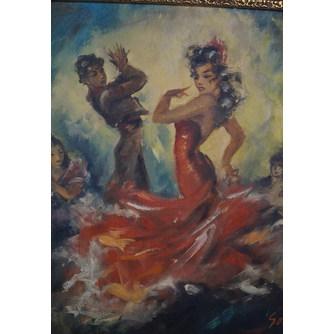 """Картина """"Испанский танец"""""""