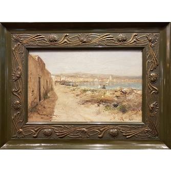 "Картина ""Рыбаки на побережье"""