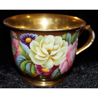 """Чайная пара """"Садовые цветы"""""""