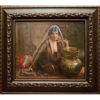 Anton (Tony) Binder (1868-1944) «Одалиска»