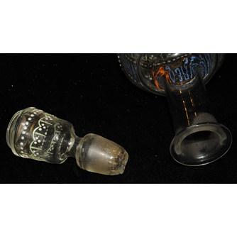 Графин и 3 рюмки «За здравие хозяина выпьем»