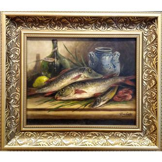 Картина «Натюрморт с рыбой»