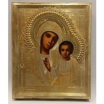 Икона «Казанская Богородица»