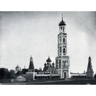 """Сегаль Максим Ильич (1860-после 1932) - Сегаль Максим Ильич (1860-после 1923) """"Симонов монастырь"""""""