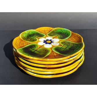 "6 тарелок ""Кувшинки"""